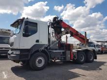 Camion transport buşteni Renault Kerax 520 DXI