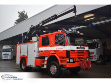 Scania P 93 truck used fire