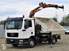 Camion MAN TGL 12.220 Kipper 4,10m+TEREX 75.2-A2 ! cassone usato