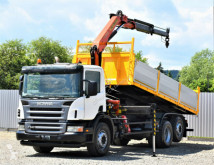 Camion Scania P340 Kipper 6,20m+ PK 12000 * TOPZUSTAND ! plateau occasion