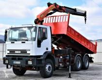 Kamion plošina Iveco EUROTRAKKER 380 *KIPPER 5,20m + PK 15002 / 6x4