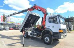 Camion benne Mercedes ATEGO 4x4 1828 FASSI F175A 2006 !! Crane Kipper