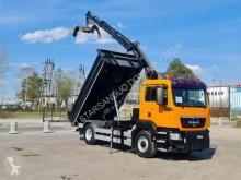 Camion MAN TGS 18.320 4x4 HIAB 111 BS-2 Hiduo Crane Kipper benne occasion