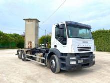 Camion Iveco 260 E42 SCARRABILE BALESTRATO ANTERIORE E PNEUMATI polybenne occasion