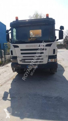 Scania P124 360 truck used concrete mixer