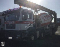 MAN truck used concrete mixer