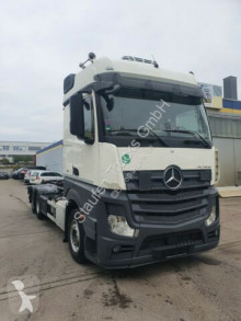 Mercedes hook lift truck Actros Actros 2545 HIAB Abroller Bigspace E6 Intarder