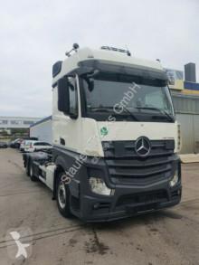 Kamion vícečetná korba Mercedes Actros Actros 2545 HIAB Abroller Bigspace E6 Intarder