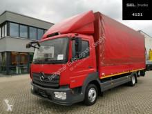 Camion Mercedes Atego Atego 816 /Ladebordwand/Seitentür/Rück centinato alla francese usato