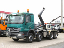 Lastbil polyvagn Mercedes Actros 3241 K 8x4 Abrollkipper Meiller 30to