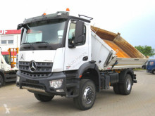 Mercedes three-way side tipper truck Arocs 1830 AK 2-Achs Allradkipper Meiller