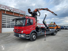 Camion Mercedes Atego 1529 L Abrollkipper mit Kran polybenne occasion