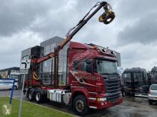 Lastbil Scania R 620 flatbed brugt