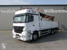 Lastbil platta häckar Mercedes Axor Axor 2543 L 6x2 Atlas 170.2, Klima, Schalter