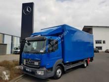 Camion furgone Mercedes Atego Atego 818 L 4x2 Koffer + LBW Klima Schalter