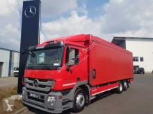 Lastbil transportbil bryggeri Mercedes Actros Actros 2541 L Getränkepritsche LBW RFK Schiebepl