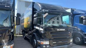 Camion Scania P P310*GetränkeOrten*Doppel-AHK Original furgone trasporto bibite usato