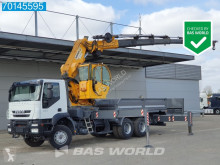 Camión Iveco Trakker 450 caja abierta usado