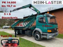 Camion tri-benne Mercedes Atego 1823 3-S.Kipper PK 14.600 14,7m 730 kg 5+6 Funk
