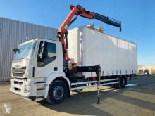 Lastbil skjutbara ridåer (flexibla skjutbara sidoväggar) Iveco Stralis 310