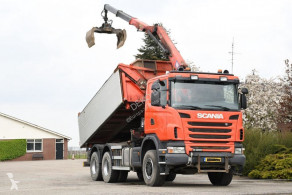 Scania three-way side tipper truck G 400