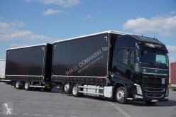 Camion Volvo FH / 460 / XXL / ACC / EURO 6 / ZESTAW PRZEJAZDOWY + remorque rideaux coulissants Teloni scorrevoli (centinato) usato
