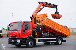 Iveco Eurocargo / 160E18 / E 5 / WYWROTKA + HDS truck used tipper