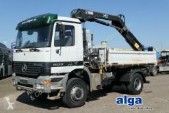 Camión volquete volquete trilateral Mercedes Arocs 1835 AK 4x4, Kran Hian 122B-2 Dou, AHK, Meiller