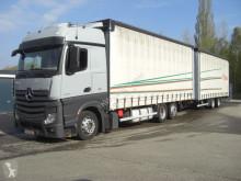 Mercedes Lastzug Pritsche und Plane Actros 2542LL KOMPLETER ZUG