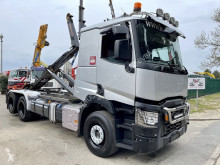 Lastbil polyvagn Renault C480 6x2/4 (ROBSON DRIVE) HAAKSYSTEEM / PORTE CONTAINER / ABROLLKIPPER --- 261.000km - NOYENS HAAK - - TOP STAAT