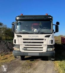 Lastbil dubbel vagn Scania P 380