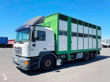 Kamion MAN 26.364 přívěs pro přepravu dobytka použitý