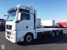 Camion MAN TGX 26.540 plateau porte paille occasion