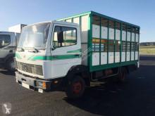 Kamion Mercedes 709D přívěs pro přepravu dobytka použitý