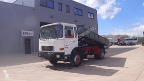 Camión MAN 16.192 (BIG AXLE / STEEL SUSPENSION / / 6 CYLINDER ENGINE WITH MANUAL PUMP) volquete usado