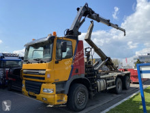 Camion Ginaf X 3335 S MANUAL + HOOKLIFT + 2012 HIAB 211E-3 MET REMOTE multiplu second-hand