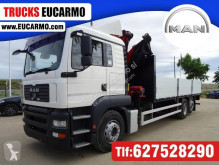Camión MAN TGA caja abierta usado
