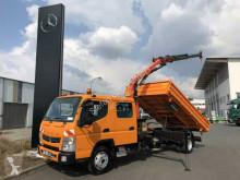 Lastbil flerecontainere Fuso Canter 7C18 4x2 DOKA Kipper + Kran PK7001K