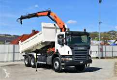 Camion Scania P380 Kipper 5,10m + PK15500 + Bordmatic/6x4 ! ribaltabile usato