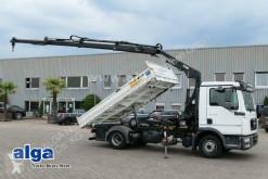 Camión volquete MAN 8.180 TGL BL 4x2, Kran Hiab 077BS-3 DUO, 2x AHK