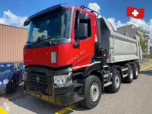 Camion Renault c440 8x4 benne occasion