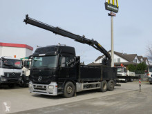Camion Mercedes Actros 2546 L 6x2 Pritsche Heckkran Lift Lenk polybenne occasion