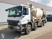 Kamión betonárske zariadenie čerpadlo na betónovú zmes Mercedes Actros 4141 B 8x4/4 4141 B 8x4/4, Putzmeister Betonpumpe ca. 26m, Fahrmischer ca. 7m³