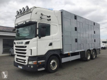 Scania állatszállító pótkocsi teherautó R 560