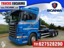 Kamión hákový nosič kontajnerov Scania