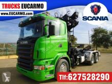 Camião estrado / caixa aberta Scania R 420