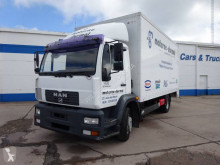 Camion MAN LE 14.220 furgone plywood / polyfond usato