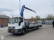 Camión caja abierta Iveco ML120E18P Euro Cargo - - HMF 8meter - Kran/crane - TOP CONDITION