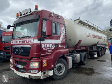 MAN TGS tractor-trailer used tanker