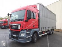 MAN ponyvával felszerelt plató teherautó TGX 26.480 6X2-2 BL